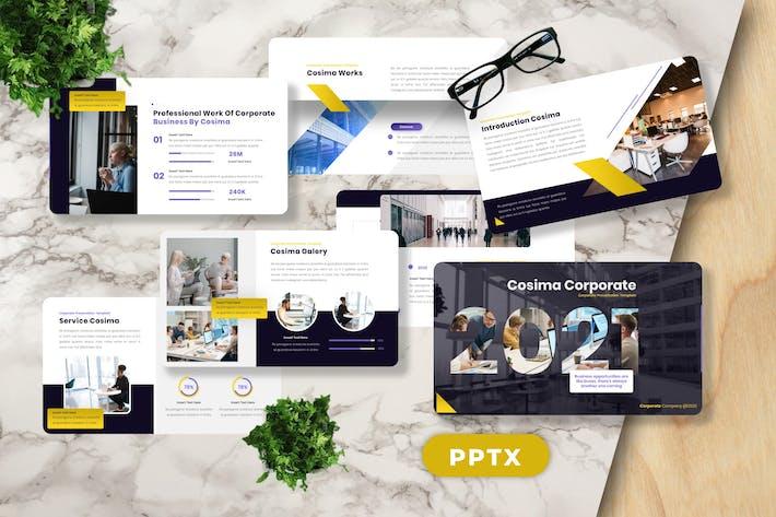 Cosima - Corporate Powerpoint Template