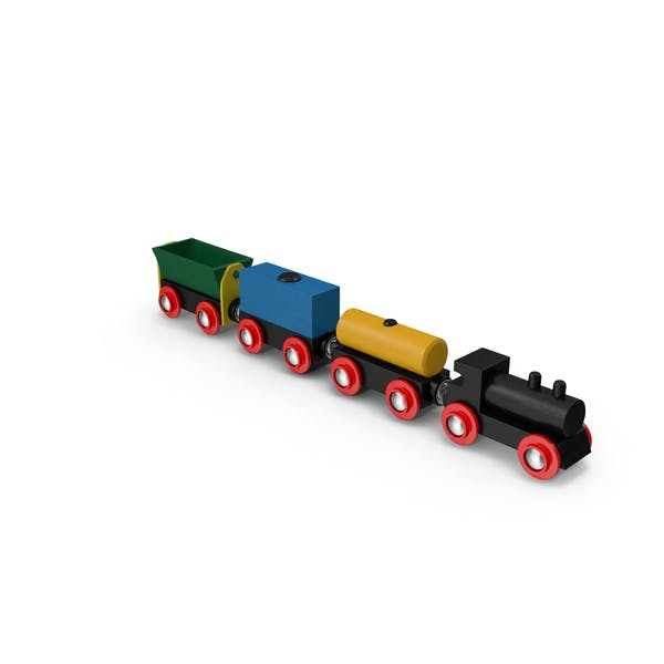 Thumbnail for Toy Wooden Train