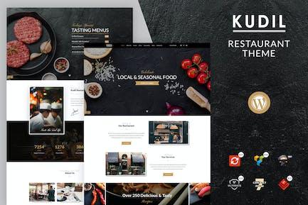 Kudil | Cafe, Food Restaurant WordPress Theme