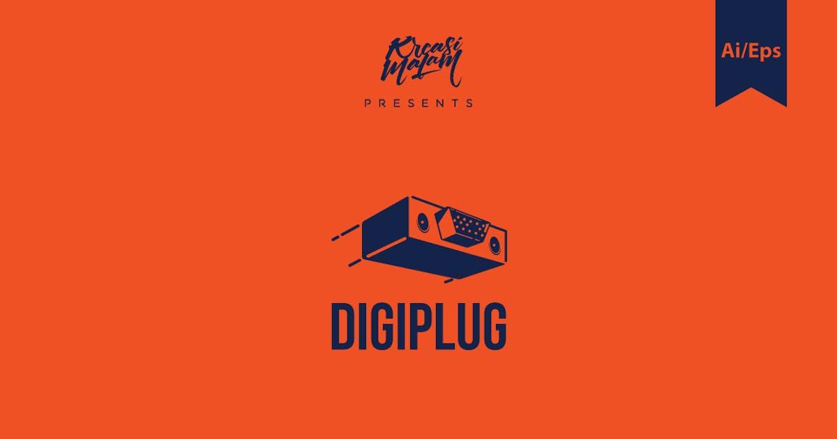 Download Digiplug Logo Template by Ijajil
