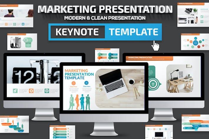 Thumbnail for Marketing Keynote Presentation