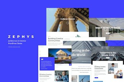 Zephys - Architecture & Intérieur Thème WordPress