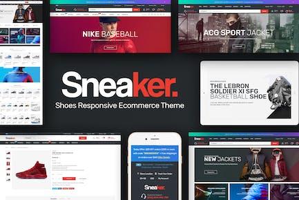 Sneaker - Zapatos Responsivo PrestaShop Tema