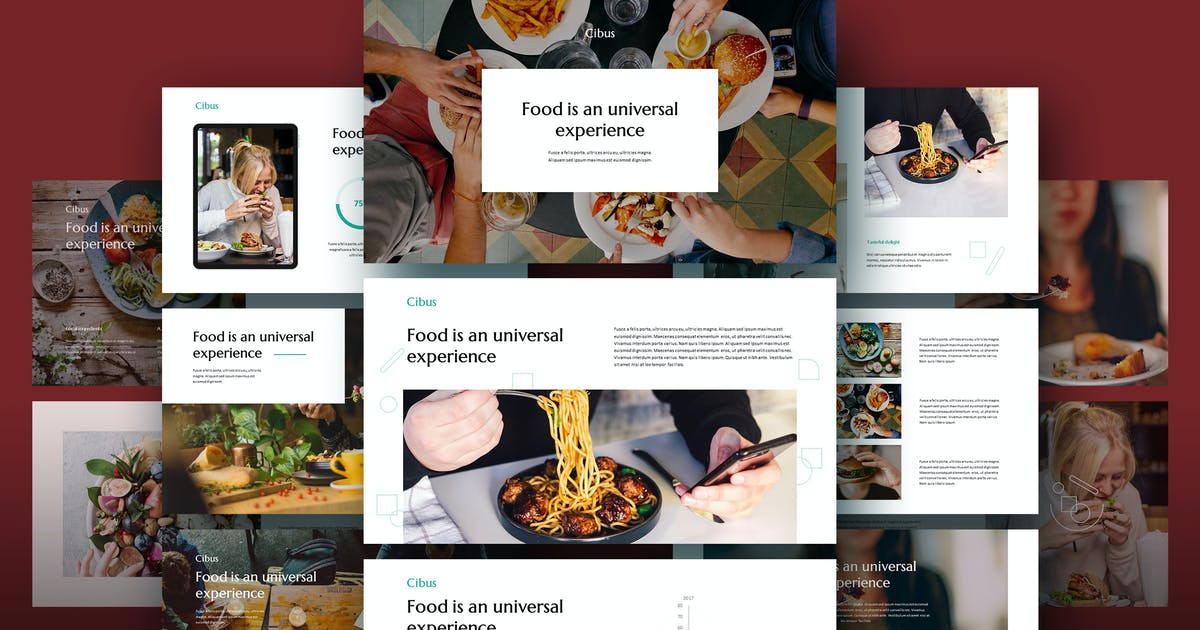 Download CIBUS - Culinary Theme Powerpoint Template by Slidehack
