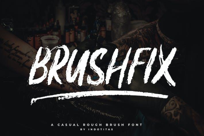 Thumbnail for Brushfix Font