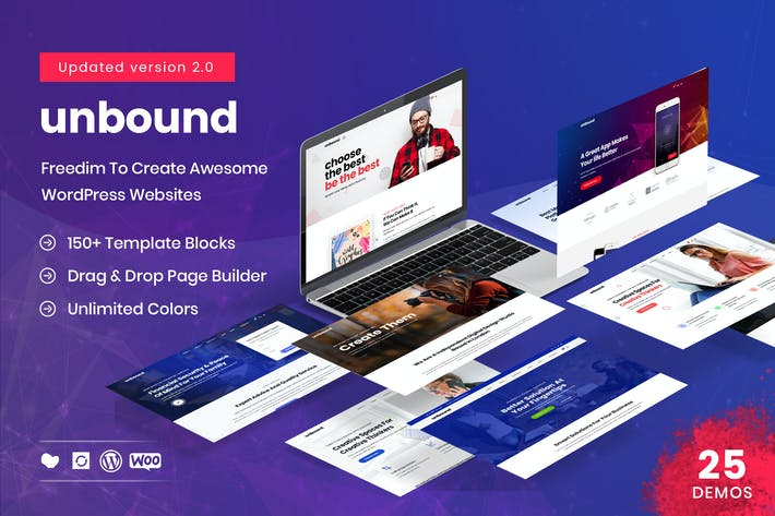 Thumbnail for Unbound - Business Agency Multipurpose Theme