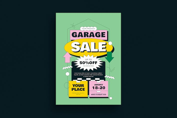 Garage Sale Event Flyer