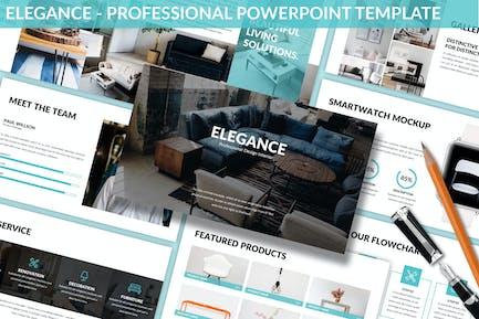 Elegance - Professionelle Powerpoint-Vorlage
