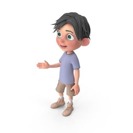 Chico Dibujos animados Jack Hablando