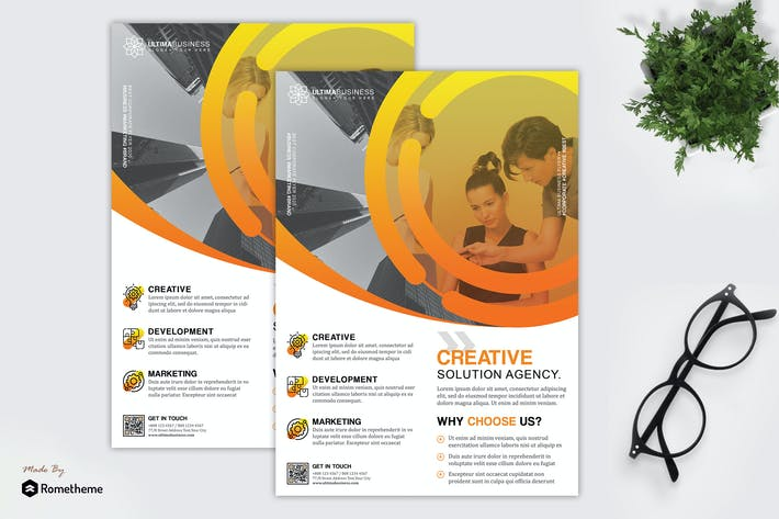 Thumbnail for Ultima - Creative Entreprise dépliant HR