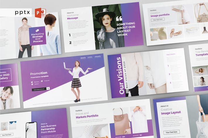 Cover Image For PROMOTION - Multipurpose Powerpoint V171