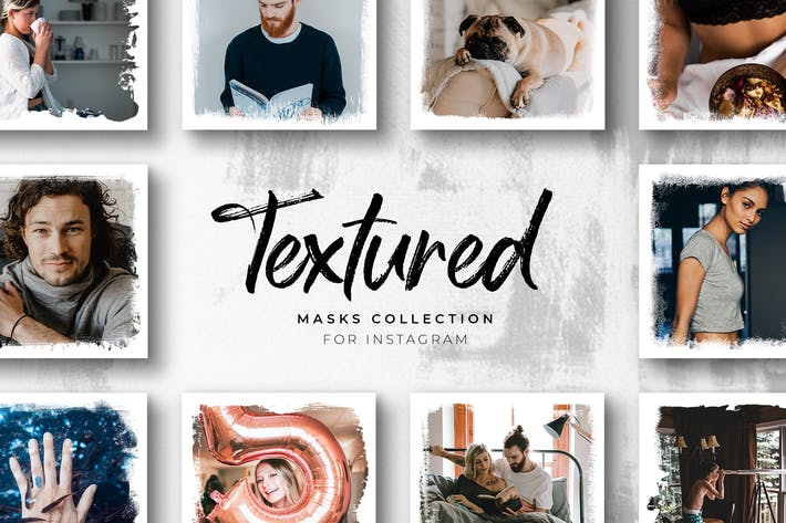 Thumbnail for Textured Instagram Masks Collection