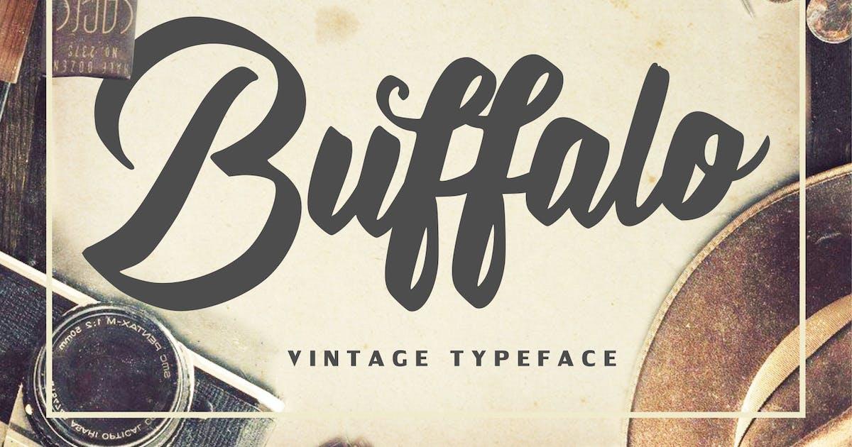 Download Buffalo - Vintage Typeface by IanMikraz