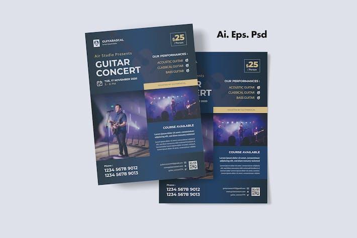 Thumbnail for Music Concert Flyer Design