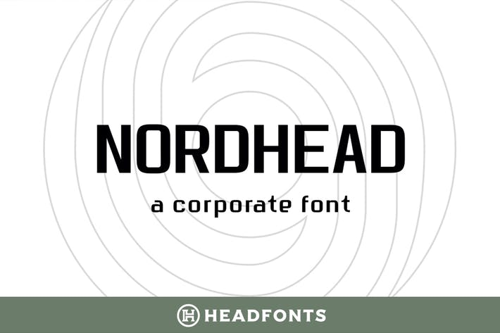 Thumbnail for Nordhead Business & Corporate Font