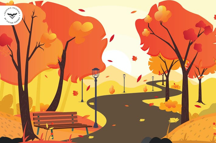 Thumbnail for Autumn Backgrounds