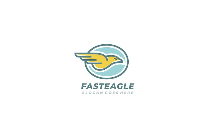 Thumbnail for Fast Eagle Logo