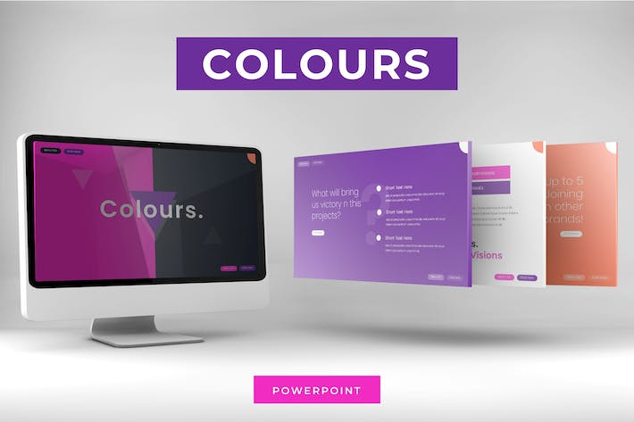 Thumbnail for Colours  - Powerpoint Template