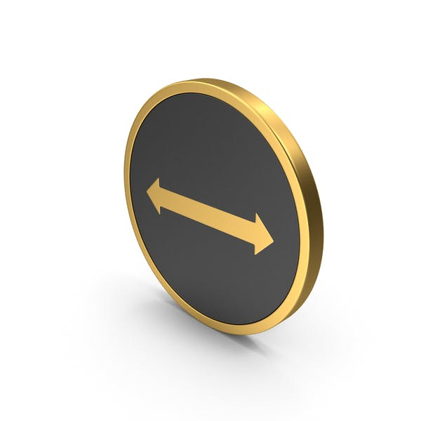Gold Icon Arrow Left Right