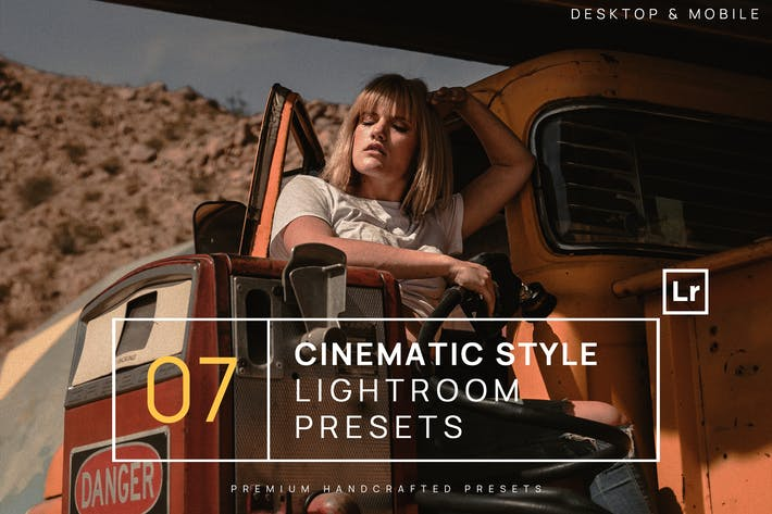 Thumbnail for 7 Cinematic Style Lightroom Presets + Mobile