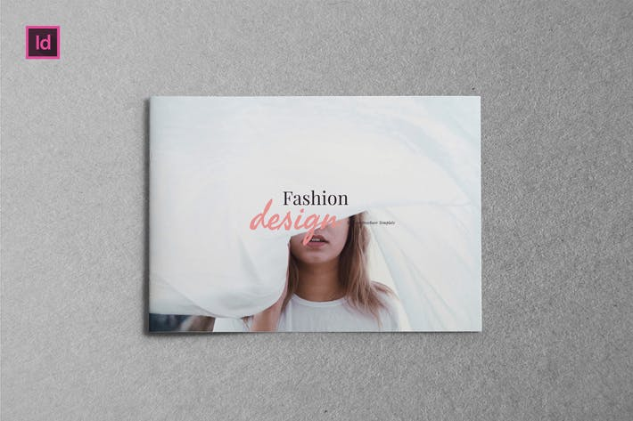 Thumbnail for FASHION DESIGN - A5 Landscape Brochure template