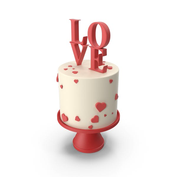 Love Decor Cake