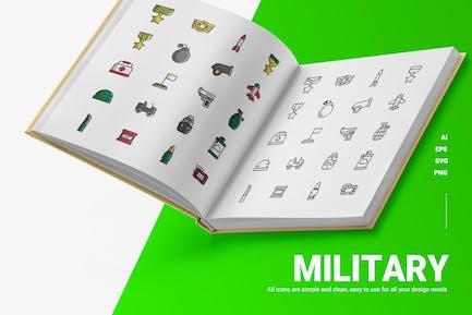 Militär - Icons