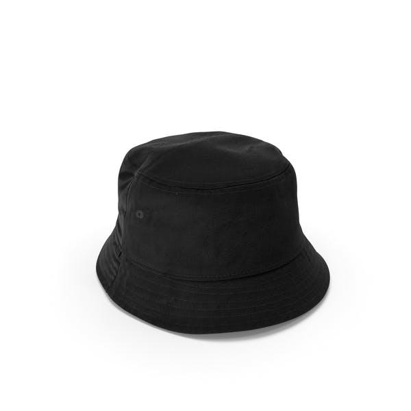 Thumbnail for Mens Hat Black 2