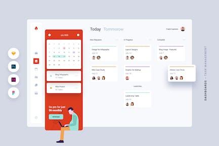 Dashboard - Task Management Web App UI Kit