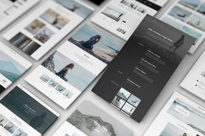 Thumbnail for Perspective Web Mockup 16