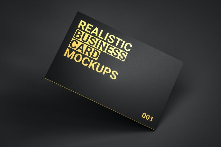 Thumbnail for Realistic Business Card Mockups v1