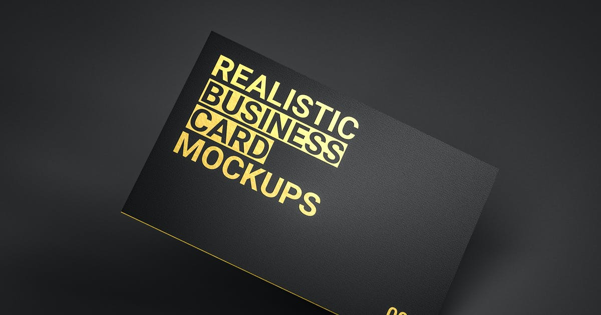 Download Realistic Business Card Mockups v1 by traint