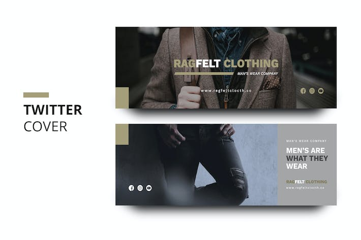 Thumbnail for Ragfelt Man Fashion Twitter Cover