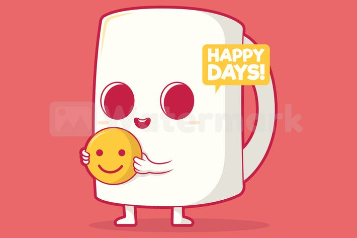 Thumbnail for Happy Coffee Cup