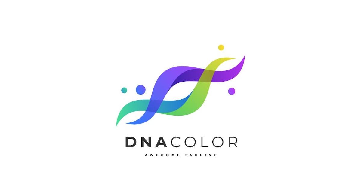 Download Abstract DNA Color Gradient logo by ivan_artnivora