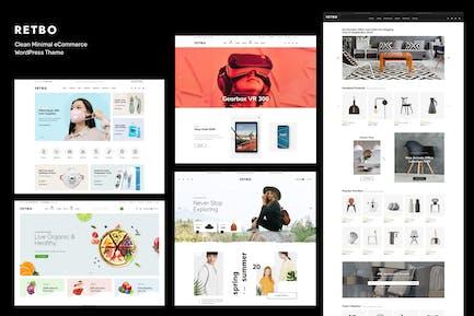Retbo - Minimal WooCommerce WordPress Theme