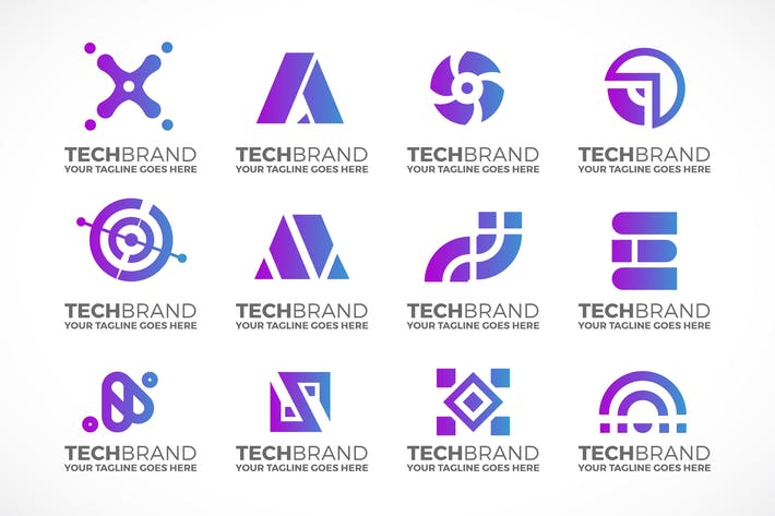 Thumbnail for Technology Logo Collection