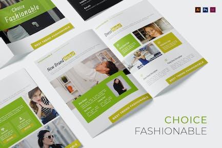 Choice Fashionable Brochure