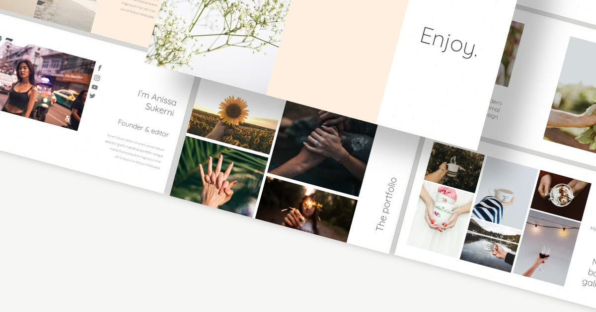 Download Enjoy - Keynote Template by Macademia