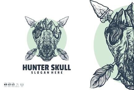 Hunter skull