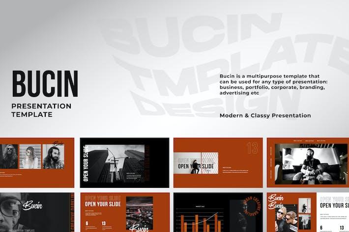 Thumbnail for Bucin Creative Business Keynote - LS