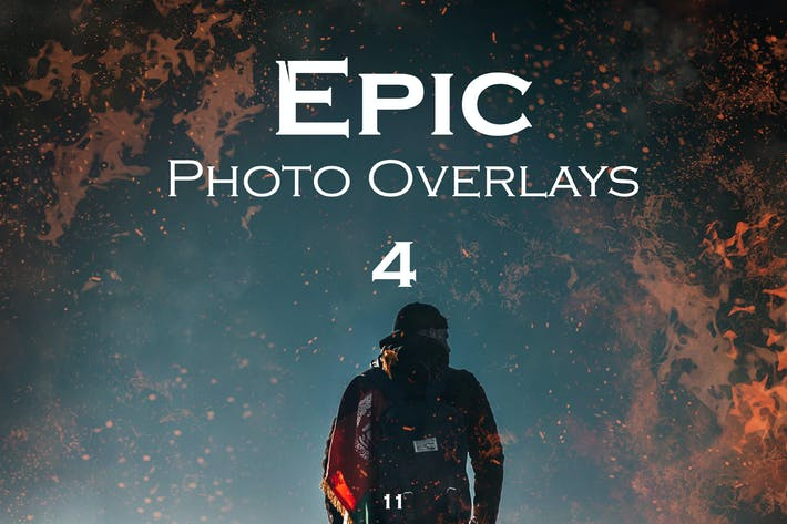 Thumbnail for Epic Photo Overlays 4