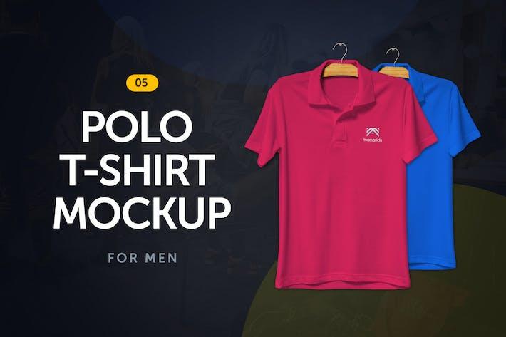 Thumbnail for Polo T-Shirt Mockup 5.0