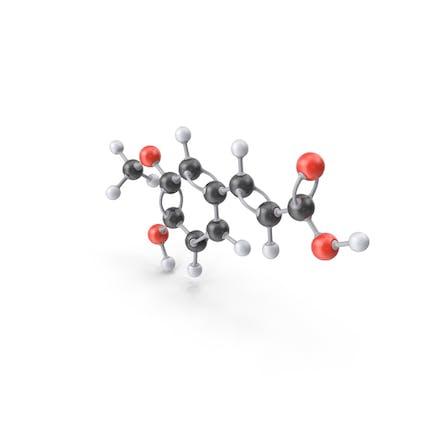 Ferulic Acid Molecule