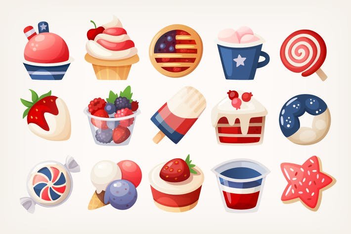Thumbnail for 4th of July Desserts
