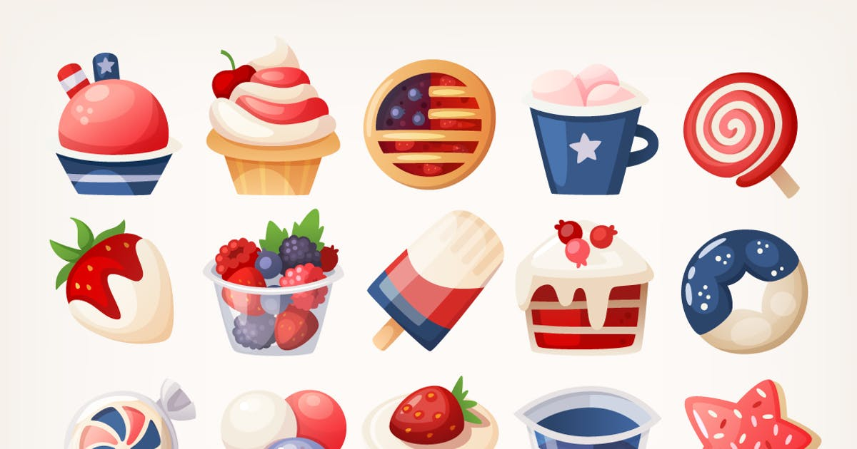 Download 4th of July Desserts by moonery