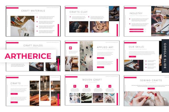 Artherice - Google Slides Template
