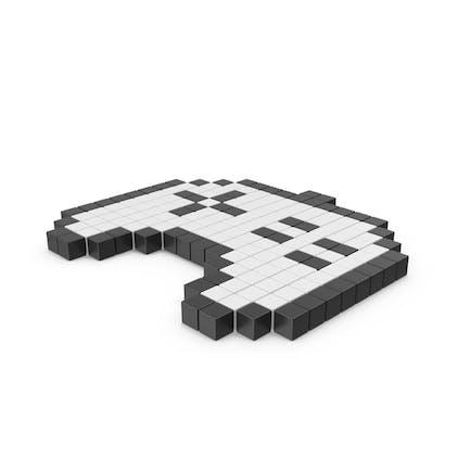Icono de tablero de Juego pixelado