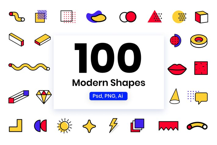 Thumbnail for Modern Shapes & Elements