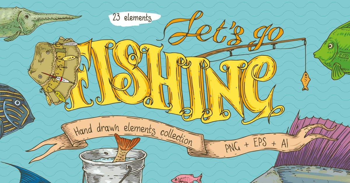 Download Fishing Elements Collection by deepfuze